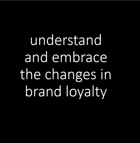 82% of consumers loyal to a brand
