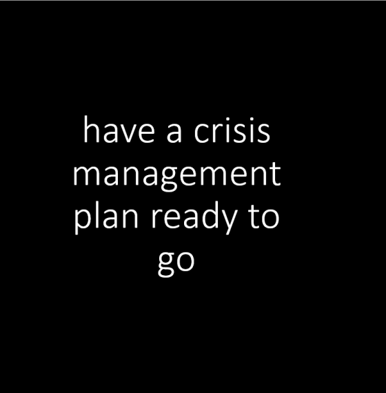 79% of business people expect a crisis