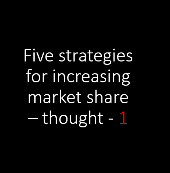 60% more profitable focusing on customers