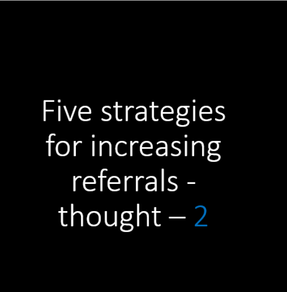 87% of B2B purchases start with a referral