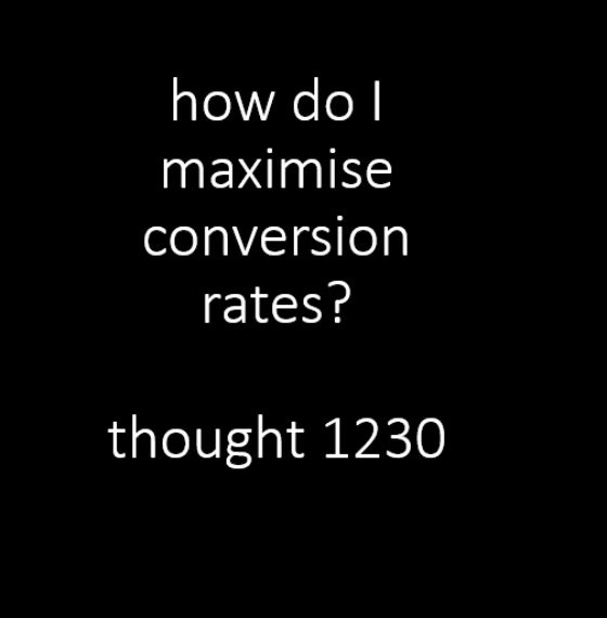 70% of businesses now view conversion rates as a key priority