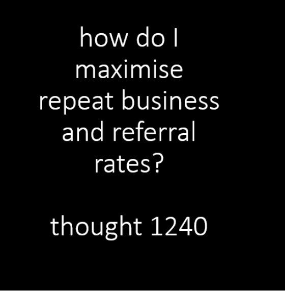 83% of customers are willing to refer but………