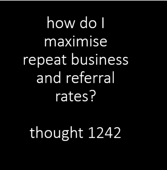 84% of B2B relationships start with a referral