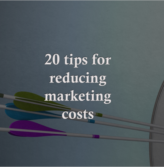 Reduce marketing costs without reducing returns
