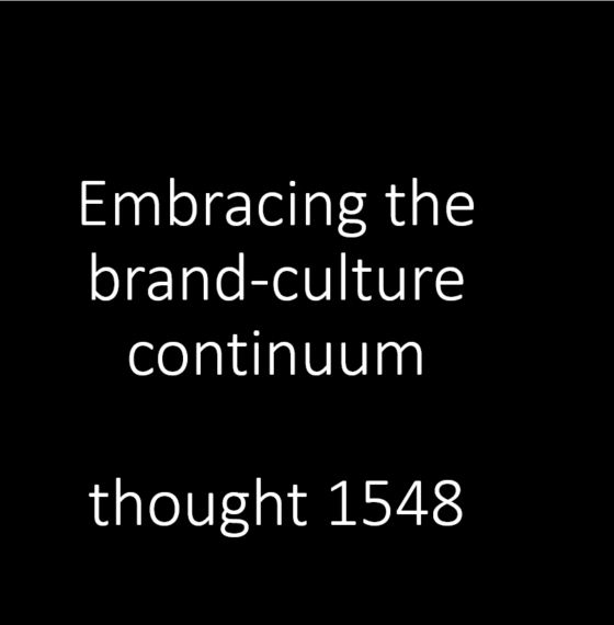 Forget advertising and look to culture