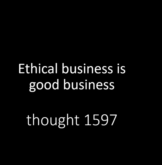REQUIREMENTS OF AN ETHICAL BRAND