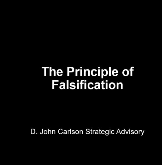 PRINCIPLE OF FALSIFICATION